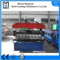 Best Elelctrical Motor Roof Roll Forming Machine High Efficient Hydarulic Pump wholesale