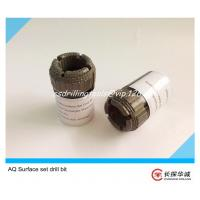 China AQ High Quality Synthetic Wireline Surface-Set Diamond Core Bit on sale