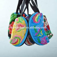 woman embroidery Mini coin purse with Chinese traditional style