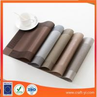 China easy clean - Place Mats placemats for dinning table heat resistant outside table on sale