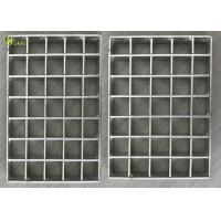 China Easy Installation Walkway Press Lock Stainless Steel Frame Grating Drain Cover on sale