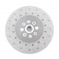 Double Sided Diamond Cutting Blade & Grinding Disc 5/8-11 Flange​ Diamond Grinding Wheel