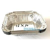 Best Manufacturer low price food waterproof food aluminium foil cake containers,Disposable to go Aluminum Foil Sealing Food C wholesale