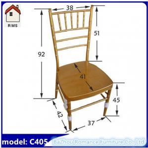 Best wholesale wedding tiffany chair aluminum chiavari chair C405 wholesale