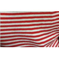 Best 100% combed cotton yarn-dyed stripe jersey fabric wholesale