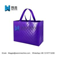 Cheap Glossy laminated non woven embossed eco-friendly shopping bag for sale