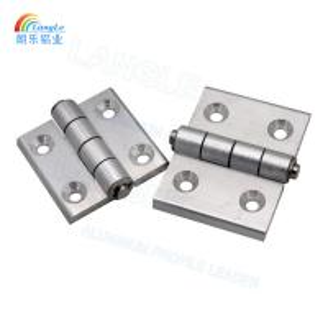 Best 304 Stainless Steel Aluminium Profile Connectors Door Hinges Powder Coating wholesale