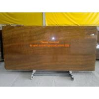 China Brown Wood Vein Marble Stone Slab/ Tile/ Wall Tile on sale