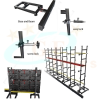 Best Aluminum 6082 Hang LED Screen Support Stand System wholesale