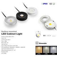 Best Surface Mounted 3W Mini Led Cabinet Light Dimmable IP65 Showcase TV Kitchen Cabinet Spotlights Lighting Fixture Led Lamp wholesale