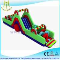 Best Hansel residential playground equipment,obstacle sport game outdoor wholesale