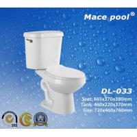 Best Bathroom Sanitary Ware Siphonic Two Piece Toilets Wc (DL-033) wholesale