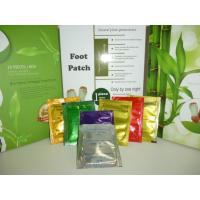 Best Silver , gold Detox Foot Patch , foot detoxification pads with chinese herbal fomulation wholesale