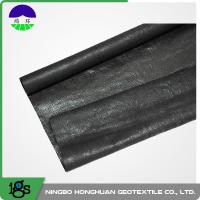 Best 210G Black High Strength PP Woven Geotextile Filter Fabric wholesale