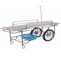 China Stainless Steel Emergency Ambulance Stretcher Trolley Patient Transport on sale