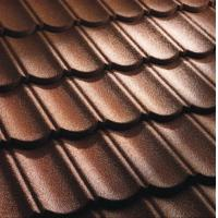 China Strong Color Stone Coated Roofing Sheets 0.4mm , hot dip galvanized steel sheet on sale