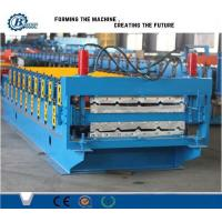 Durable Double Layer IBR Metal Roof Sheet Roll Forming Machine Approved CE