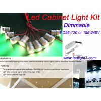 9PCS*3W Mini Led Cabinet Light +Driver Kit Dimmable Recessed Downlight home