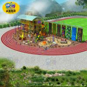 Best Big Capacity Outdoor Playground Equipment Safe For Amusement Park wholesale