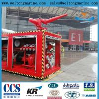 China 1200m3/h Marine External Fire Fighting FIFI System for Vessel on sale