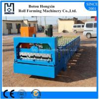 Best Reliable Metal Roll Forming Machines , 860mm Cover Width Roof Tile Making Machine wholesale