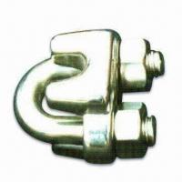 Best Din 741 Wire Rope Clip, Made of AISI 304 or 316 Stainless Steel, Used in Hoisting Devices wholesale