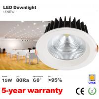 Best 15W LED Downlight CREE COB LED Bulb Recessed Down ceilling light 1200LM lumens lamp wholesale