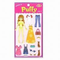 Best Puffy Stickers, Ideal for 4yrs Old and Up wholesale