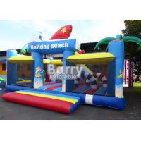 China 0.55m PVC Material Inflatable Park Equipment Playground / Outdoor Holiday Beach Inflatable Playland on sale