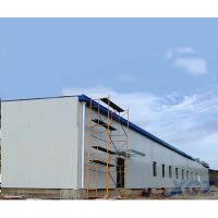 China Prefab Modular Light Steel Structure Workshop Building with Q345B steel on sale