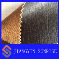 Best Jean Satin Car Seat Leather Upholstery , PU Coated Cow Split Leather wholesale