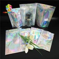 Best Cosmetic Holographic Makeup Bag Iridescent Small Sachet For Jewelry Necklace Bracelet wholesale