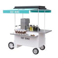 Best Easy Operating Scooter Food Cart With Heat Resistant 304 Stainless Steel Worktable wholesale