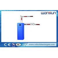 China LED Light Arm Car Park Barriers For Car Parking Lot / Traffic Control Solution on sale