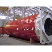 Best Hot Oil Fired Horizontal Thermal Oil Boiler High Efficiency For Plastic / Rubber wholesale