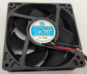China 80×80×25mm 7400RPM DC Axial Fans For Computer on sale
