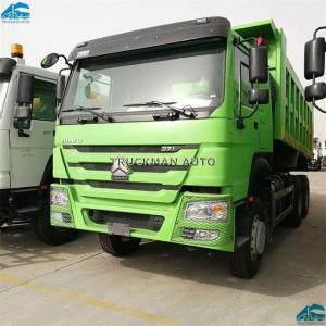 China Sinotruk Howo  Heavy Duty Tipper Trucks 25 Tons  16-20m3 Big Cargo Box on sale