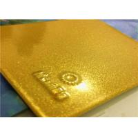 China Bonded Metallic Gold Powder Coat With High Exterior Stability And Performance on sale