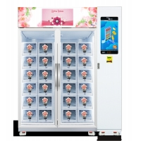 China Flower Vending Machine with refrigerater function, flower vending machine with cooling function, Micron on sale