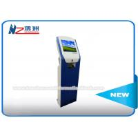 China Touch Screen IR Card Dispenser Kiosk For Parking Car Access Control System on sale