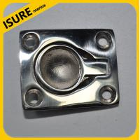 China Boat Stainless Steel Flush Lift Ring / Hatch Pull Handle on sale