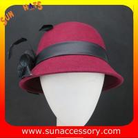 Best 2323 Sun Accessory customized fashion winter wool felt lace  hats  ,women hats and caps wholesaling wholesale