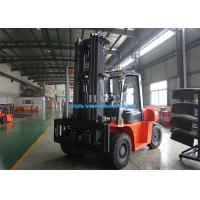 Best FD100T Diesel Industrial Forklift Truck 2 Stage 3m Container Mast With Adjustable Fork wholesale