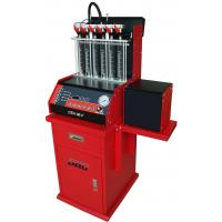 China Auto Ultrasonic Carbon Remover Fuel Injector Cleaning Machine , 220v / 50 Hz,6 cylinders on sale