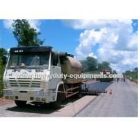 Best 8000L Road Construction Equipment Asphalt Distributor Truck With Two Diesel Bummer Heating System wholesale