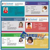 China plastic id card printing service on sale