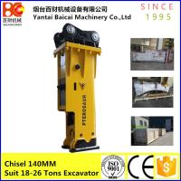 Buy cheap Silenced type Soosan  SB81 excavator korea hydraulic bead breaker product