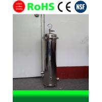 China 304 Stainless Steel Water Filter Housing Filter Cartridge Filter Housing on sale