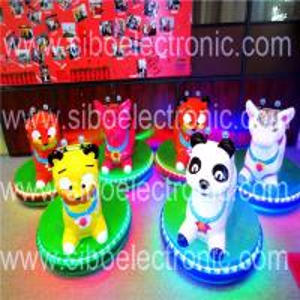 Best Sibo Kids Bumper Car Ride Animal Dodgem Cars Bumper Car Family Game wholesale