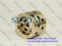 Best Oilless Bush,Bronze of Solid Lubricants,Graphite inlaid Oiles Bronze Bushing wholesale